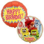 Yo Gabba Gabba! Foil Balloon