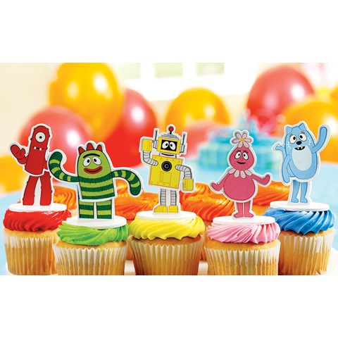Yo Gabba Gabba! Cake Toppers