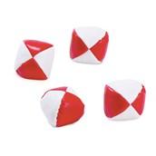 Red and White Kick Balls