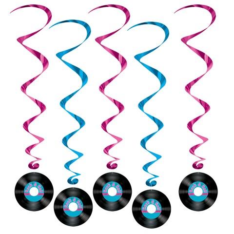 Rock 'N Roll Record Swirls