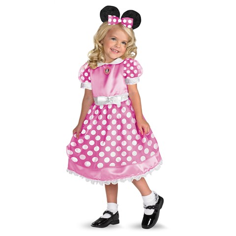 Clubhouse Minnie Mouse Pink Toddler / Child Costume