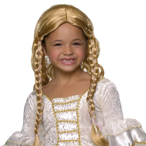 Blonde Princess Wig Child