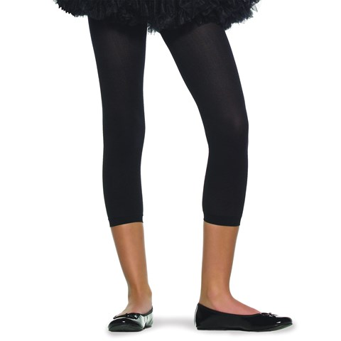Footless Tights (Black) Child