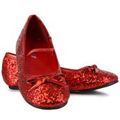 Sparkle Ballerina Shoes (Red) Child