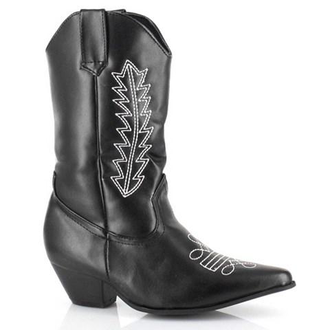 Cowboy Boots (Black) Child