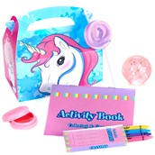Enchanted Unicorn Filled Party Favor Box