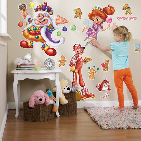 Candy Land Giant Wall Decals