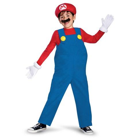Super Mario Bros. Mario Deluxe Toddler / Child Costume
