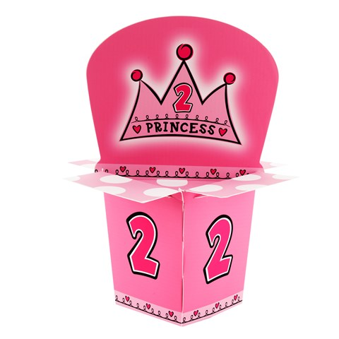 Birthday Princess 2nd Birthday Centerpiece