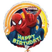 """Spider-Man Happy Birthday 18"""" Foil Balloon"""