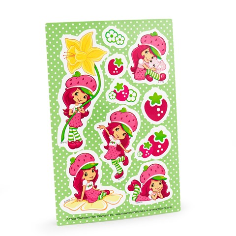 Strawberry Shortcake Sticker Sheets
