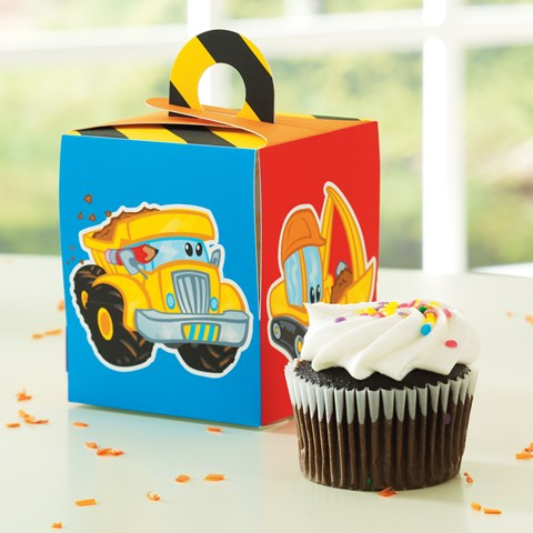 Construction Pals Cupcake Box