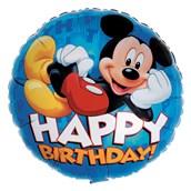 Disney Mickey Happy Birthday Foil Balloon