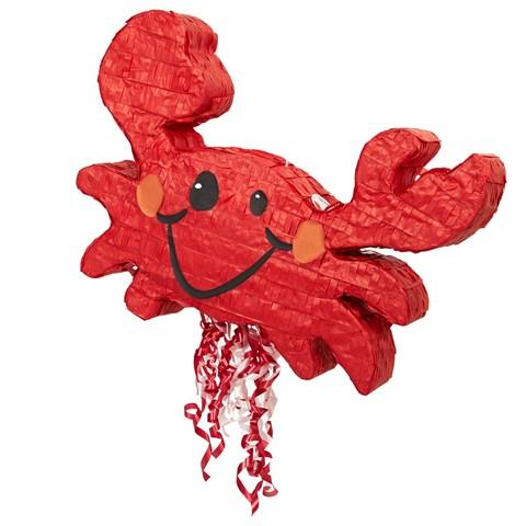 """Crab 21"""" Pull-String Pinata"""