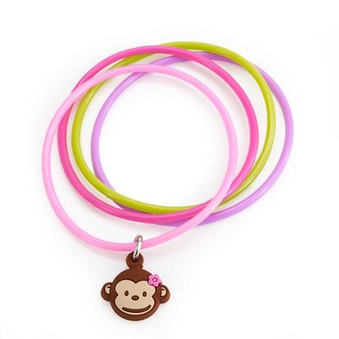 Pink Mod Monkey Bracelets