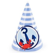 Anchors Aweigh Cone Hats