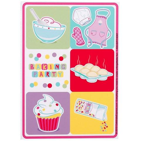 Baking Bash Sticker Sheets