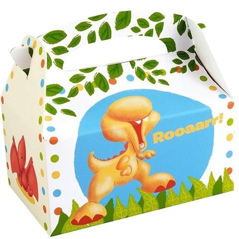 Little Dino Empty Favor Boxes