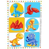 Little Dino Sticker Sheets