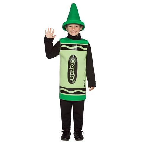 Green Crayola Child Costume