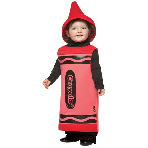 Red Crayola Toddler Costume