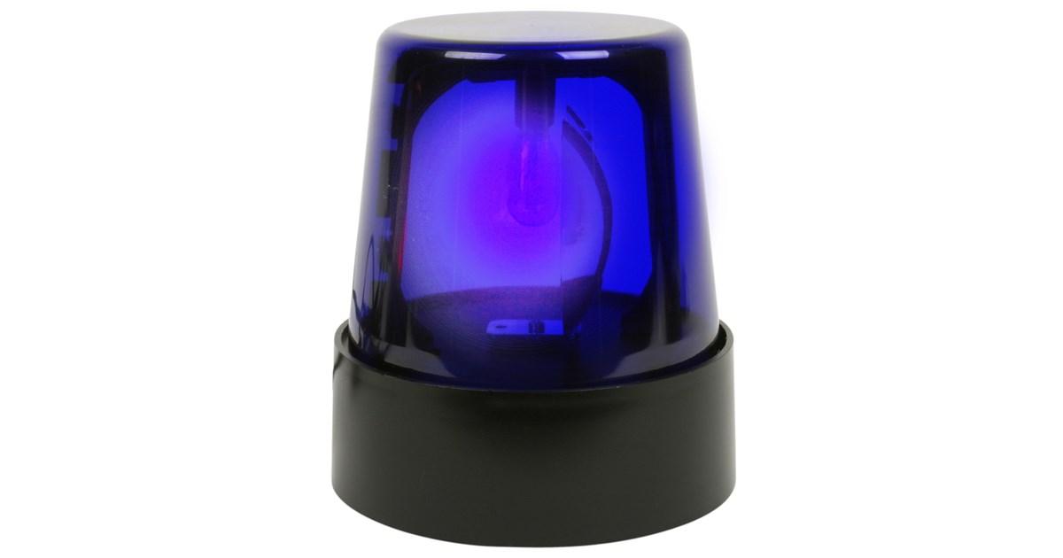 7 u0026quot  blue police beacon light
