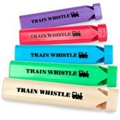 Plastic Train Whistles