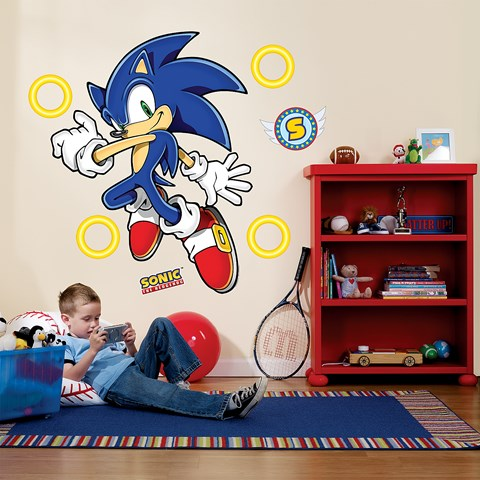 Sonic the Hedgehog Giant Wall Decals