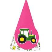 John Deere Pink Cone Hats