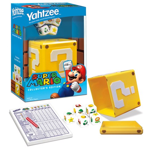 Super Mario Yahtzee Game