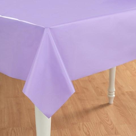 Luscious Lavender (Lavender) Plastic Tablecover