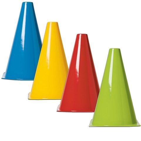 Plastic Field Cones Assorted