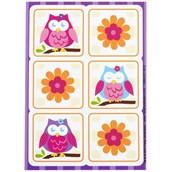 Owl Blossom Sticker Sheets