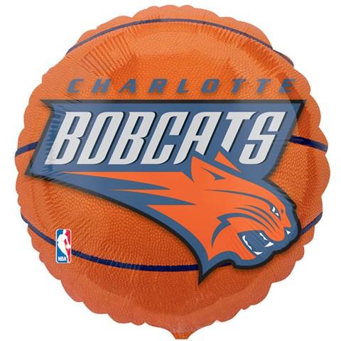 Charlotte Bobcats Basketball Foil Balloon