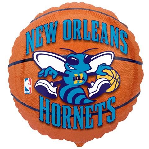 New Orleans Hornets Basketball Foil Balloon