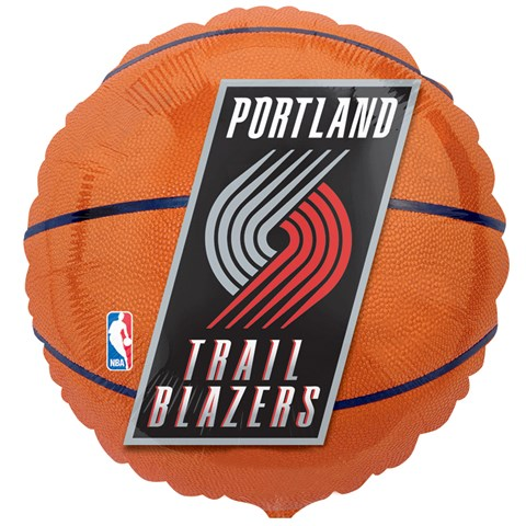Portland Trail Blazers Basketball Foil Balloon