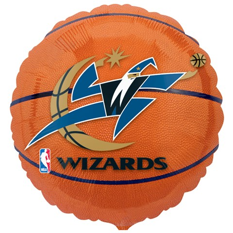 Washington Wizards Basketball Foil Balloon