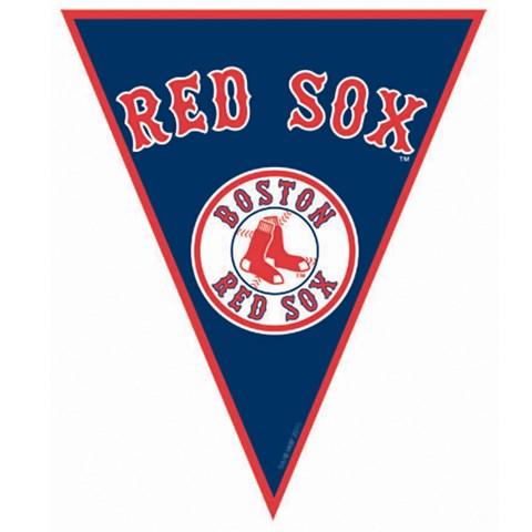 Boston Red Sox Baseball Pennant Banner