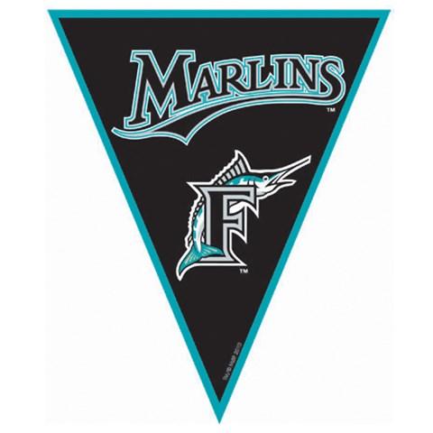 Florida Marlins Baseball Pennant Banner