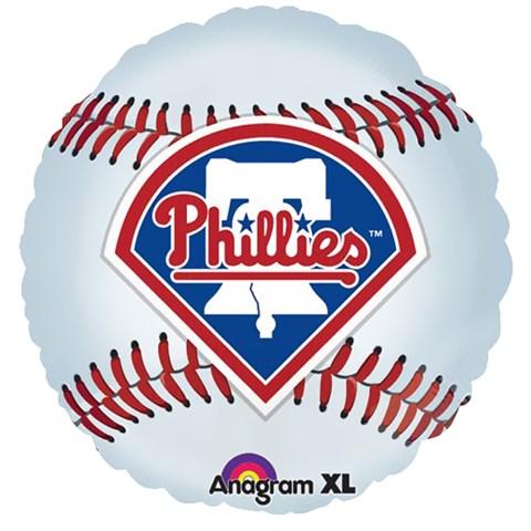 Philadelphia Phillies Baseball Foil Balloon