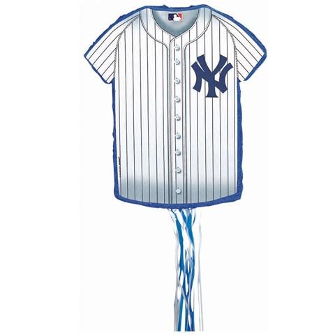 New York Yankees Baseball - Shirt Shaped Pull-String Pinata