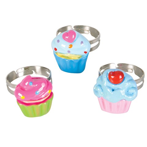 Cupcake Rings