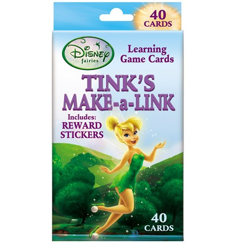 Disney Tinker Bell Make-A-Link Learning Game Cards