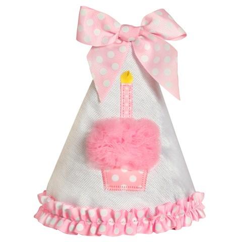 Pink Cupcake 1st Birthday Hat