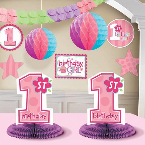 1st Birthday Girl Decorating Kit
