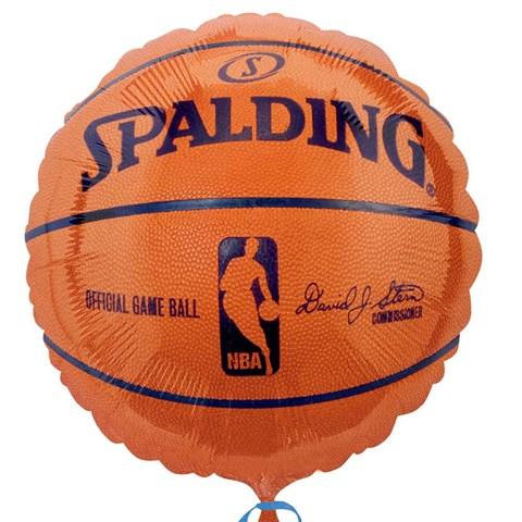 Spalding Basketball Foil Balloon
