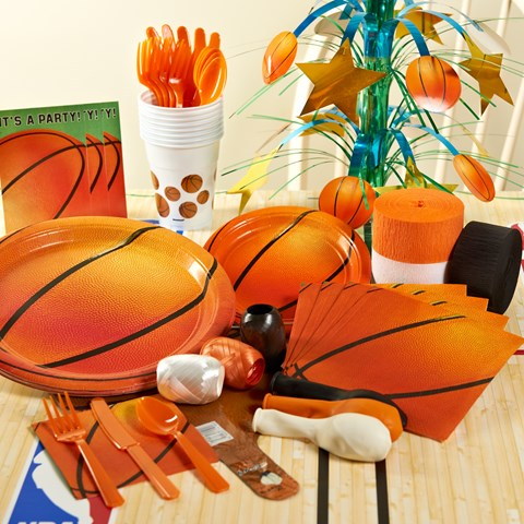 Basketball Fan Party Supplies