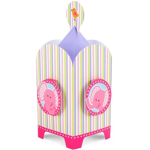 Pink Elephants Centerpiece