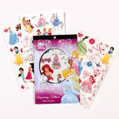 Disney Princess Temporary Tattoo Book