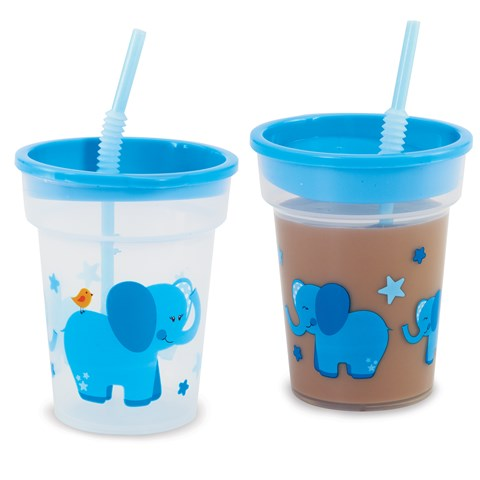 Blue Elephants Tumbler